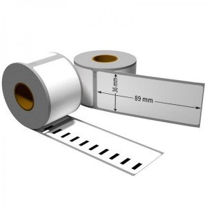 Dore analog labels S0722400 Dymo 99012 white large Address 89mm x 36mm