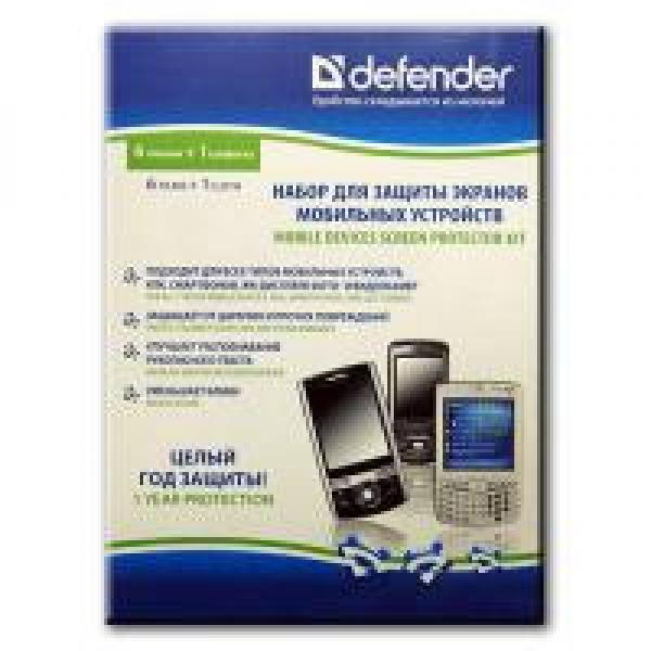 Defenderi pihuarvutite ja mobiiltelefonide ekraanide kaitsekomplekt