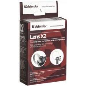 Объектив для планшетов и смартфонов Defender Lens x2