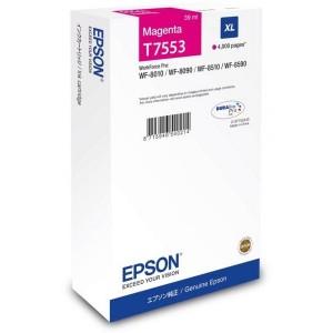 EPSON чернильный картридж C13T755340 T7553 Magenta