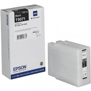 EPSON чернильный картридж C13T907140 T9071 XL BK