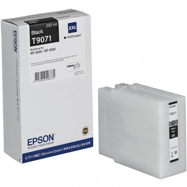 EPSON tindikassett C13T907140 T9071 XL BK