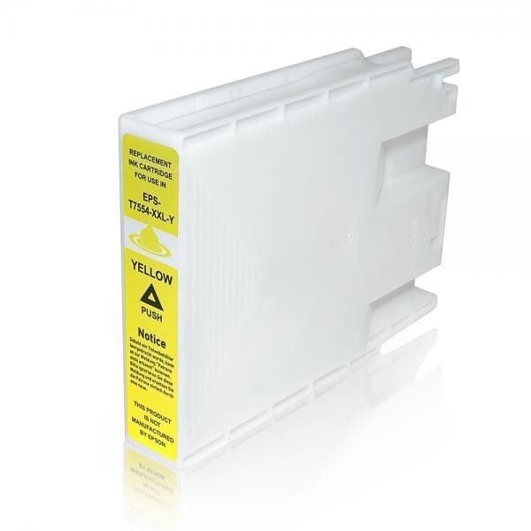 EPSON tindikassett T7554 XL C13T755440 Yellow