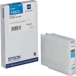 EPSON чернильный картридж T9072 XL C13T907240 Cyan