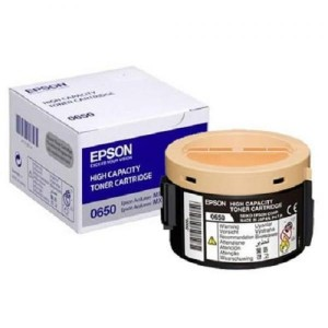 Epson toner cartridge  C13S050650 C13S050651 Black