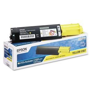 Epson toner cartridge S050187 Y Yellow