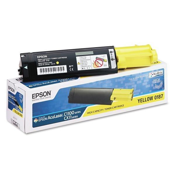 Epson toonerkassett S050187 Y Yellow