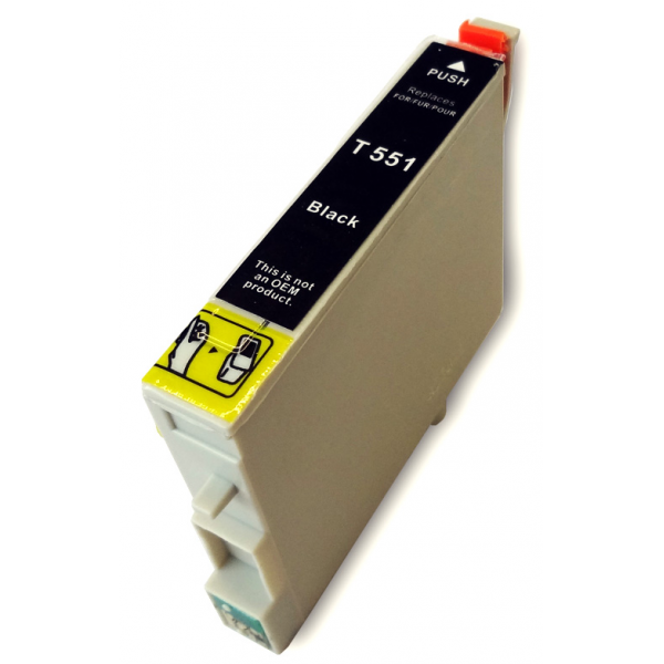 G&G analoog tindikassett Epson T0551BK C13T05514010 T0551