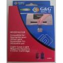 G&G Epson Tindi täitekomplekt NR-E2014LC/LM