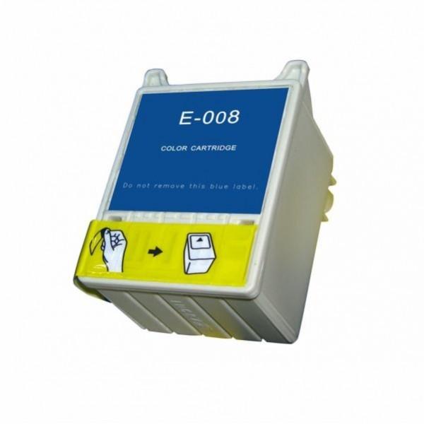 Red Box tindikassett Epson C13T008401 T008 Stylus Photo 790 825 780 785 EPX 870 870LE 875 875DC 890