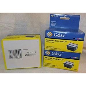 G&G analoog tindikassett KODAK NK-08966 BK/C/M/GL/Y