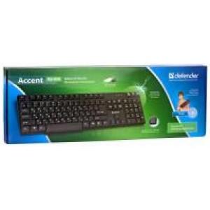 Juhtmega klaviatuur Defender Accent KS-930, EST/RUS, PS/2