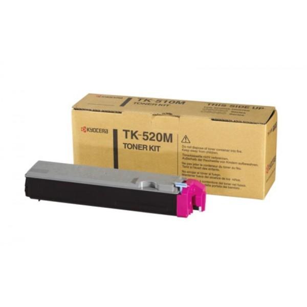 Kyocera toonerkassett TK-520M TK520M 1T02HJBEU0