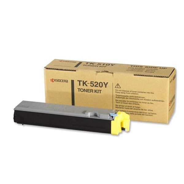 Kyocera toonerkassett TK-520Y TK520Y 1T02HJAEU0