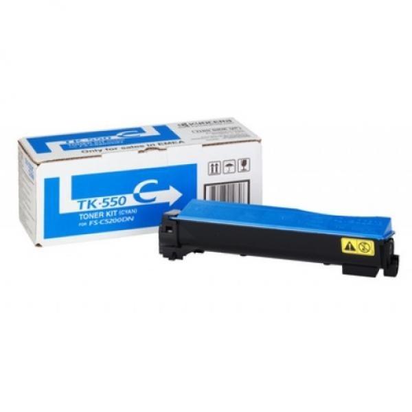 Kyocera toonerkassett TK-550C TK550C