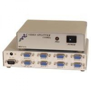 Signaali jagaja 8-le monitoridele