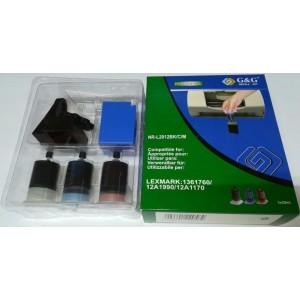 G&G Täitmiskomplekt Lexmark: 1361760 12A1990 12A1170