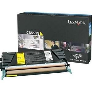 Lexmark toonerkassett C5222YS
