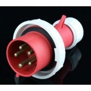 Industrial plug 63A IP67