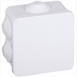 Junction box 80x80x50 IP55