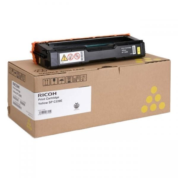 Ricoh tooner Yellow 407643 406106 406055 406768 Aficio SP C220