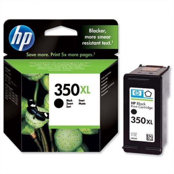 HP tindikassett CB336EE 350XL Black