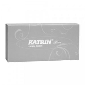 KATRIN Plus kosmeetilised salvrätikud 100tk, 2-kihilised 21x20,5 cm