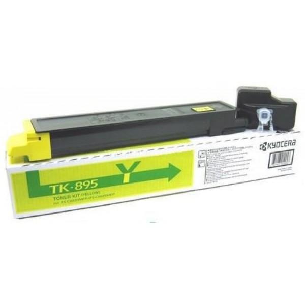 Kyocera toonerkassett TK-895Y