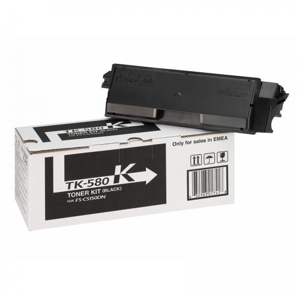 Kyocera toonerkassett TK-580BK TK580BK