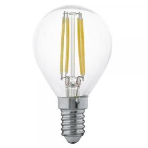 LED filament bulb E14-G45 4W 3000K