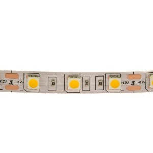 LED white strip light 5m, IP 20, 4000-4500K, 14,4W