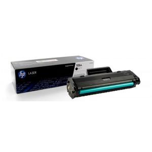 HP  toonerkassett W1106A  BK Black 106A