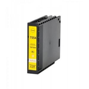 Dore analoog tindikassett Epson C13T755440 T7554XL Yellow