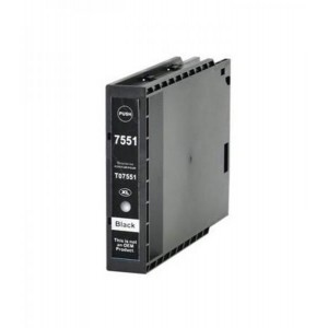 Dore аналоговый чернильный катридж Epson C13T755140 T7551XL Black