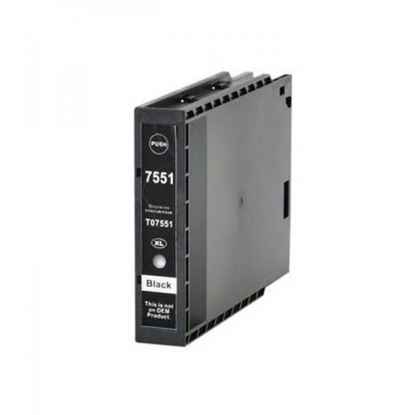 Dore analoog tindikassett Epson C13T755140 T7551XL Black