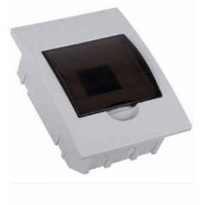Flush distribution box 6 way IP40