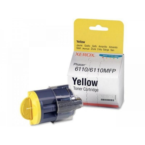 Xerox tooner 106R01273 Phaser 6110 6110MFP Y