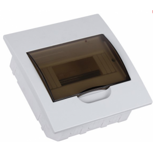 Flush distribution box 8 way IP40