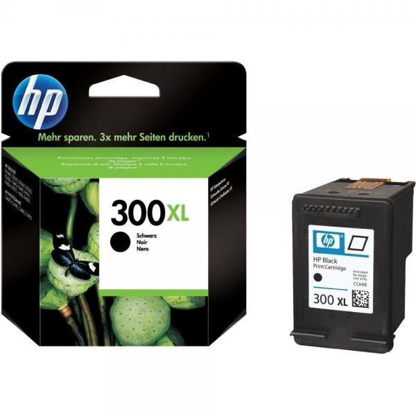 HP tindikassett CC641EE 300XL Black