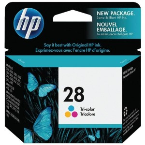 HP ink cartridge C8728AE ABE HP 28 Tri-color