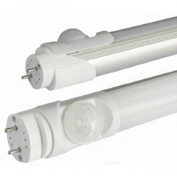 LED T8 Milky PIR 30/100% torud 600 mm Ø30 mm, 9W DW