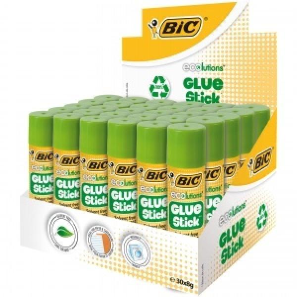BIC ECO liimipulk  8 gr, Pouch 30 pcs 8923442