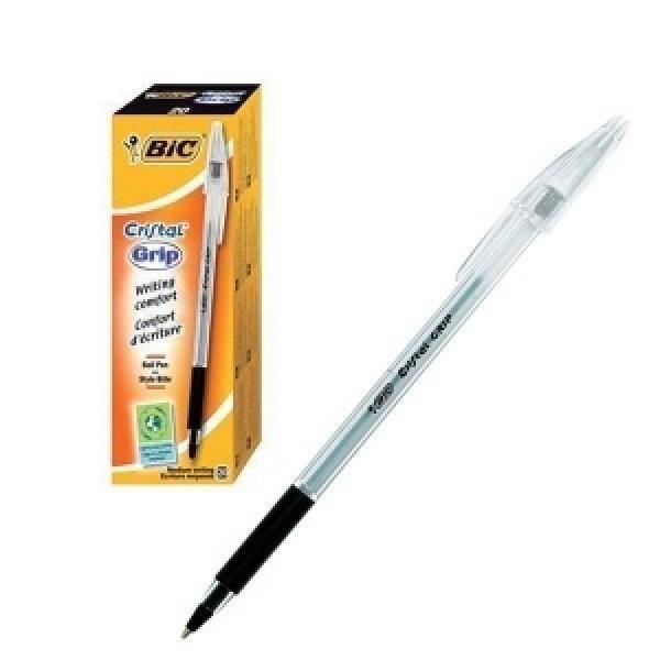 BIC pastapliiats Cristal Grip Black Box 20, 004054
